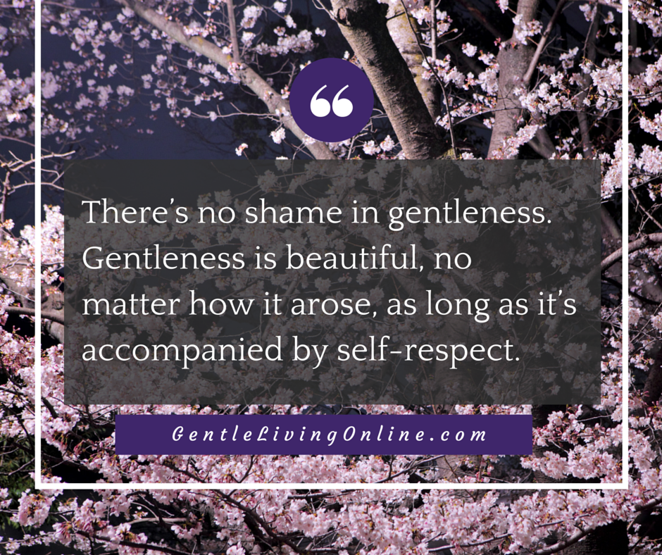 gentleness is beautiful