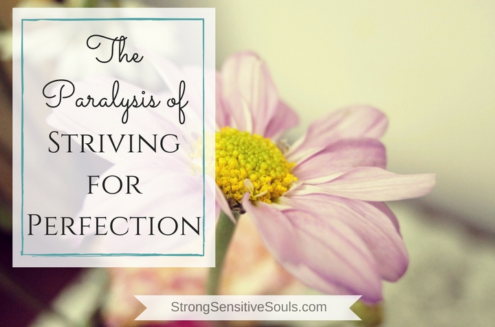 The Paralysis of Striving for Perfection, My Confessions