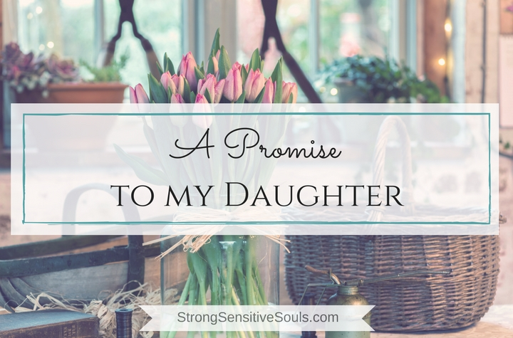 Promise to My Daughter. And the Most Offensive Decluttering Project.