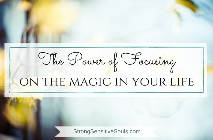 The Power of Focusing on the Magic in Your Life {& My Little Drop of Heavenly Rayne}
