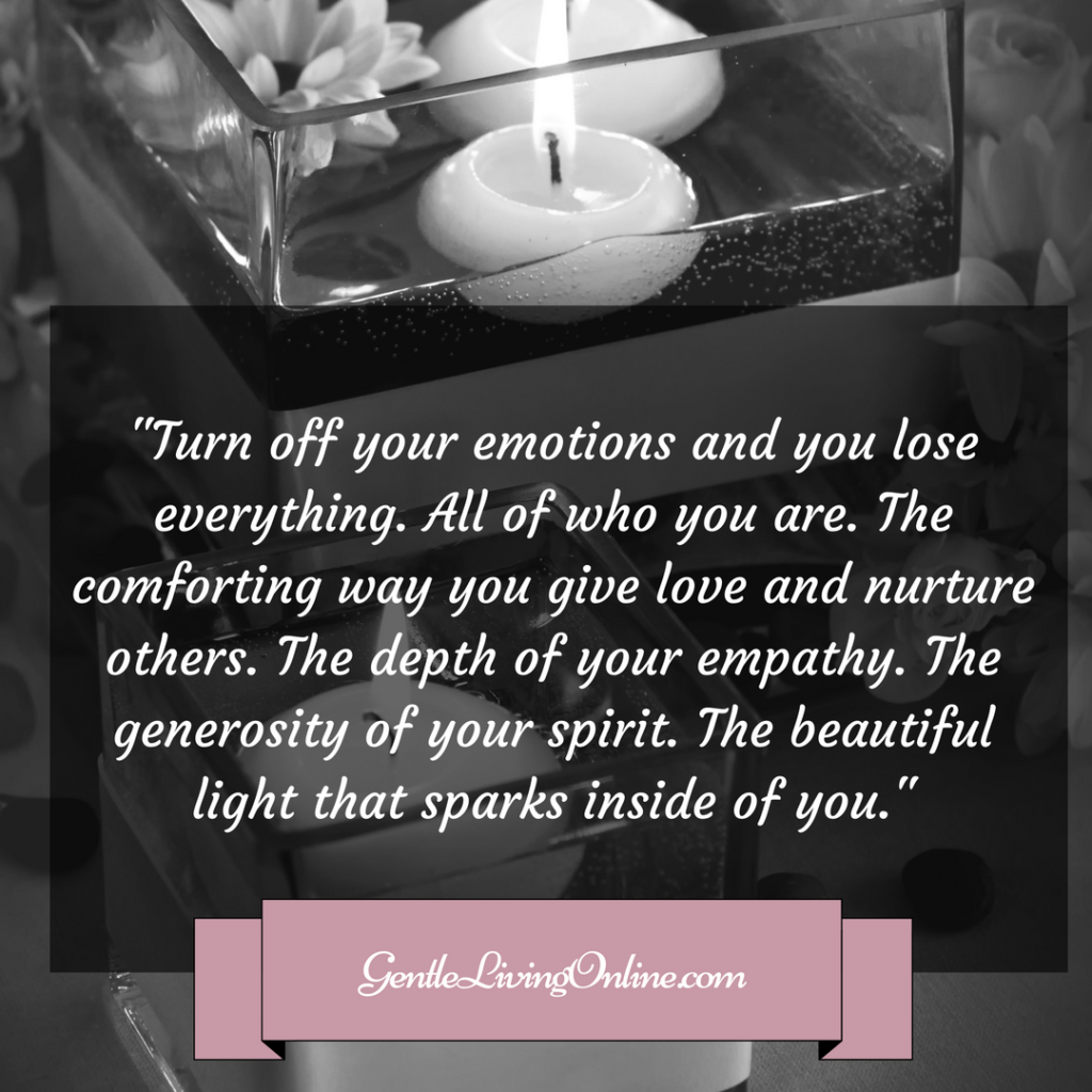 turn off your emotions and you lose everything (1)