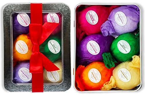 Vegan Bath Bombs Gift Set