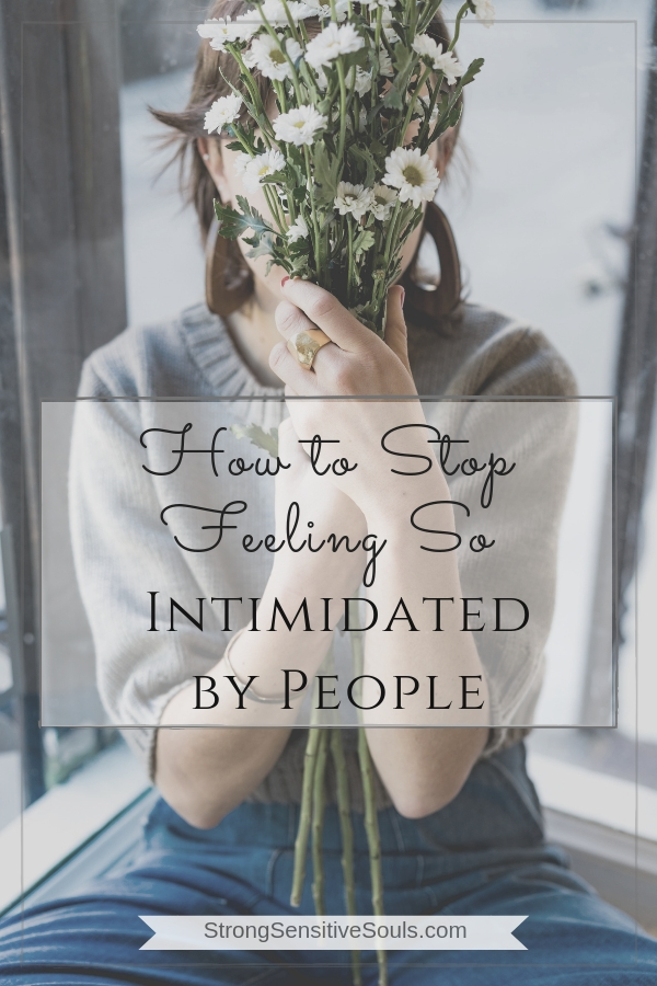 What does it mean to intimidate someone